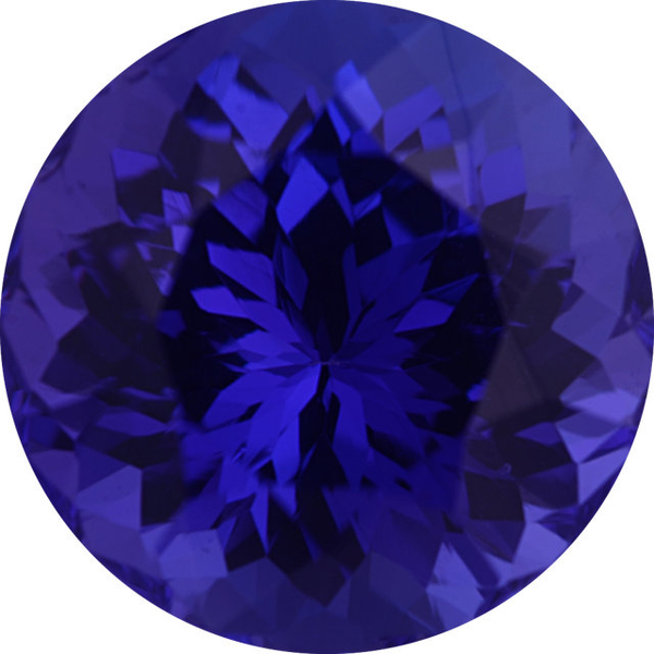Natural Extra Fine Deep Blue Purple Tanzanite - Round - Tanzania - Extra Fine Grade - NW Gems & Diamonds