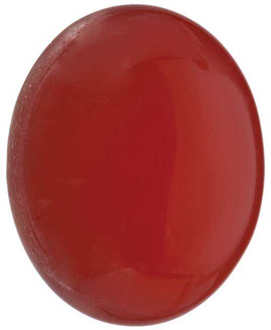 Natural Fine Orange Red Carnelian - Oval Cabochon - Uruguay - Top Grade - NW Gems & Diamonds