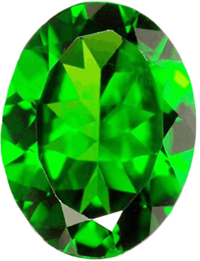 Natural Fine Rich Green Chrome Diopside - Round - Russia - Top Grade - NW Gems & Diamonds