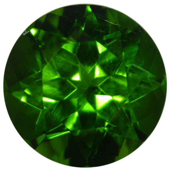 Natural Extra Fine Rich Green Chrome Diopside - Round - Eastern Siberia - Extra Fine Grade - NW Gems & Diamonds