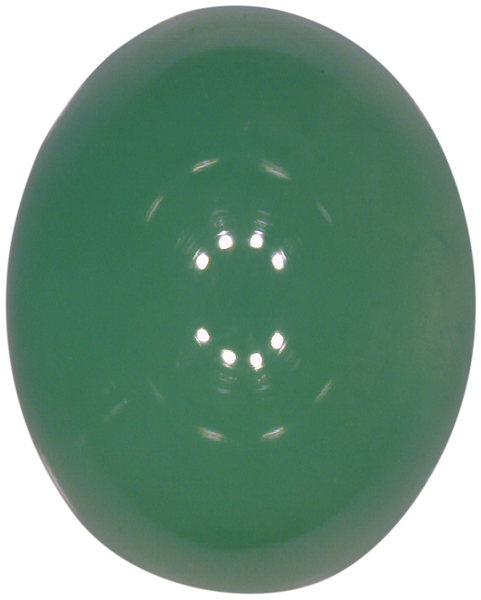 Natural Fine Green Chrysoprase - Oval Cabochon - Brazil - Top Grade - NW Gems & Diamonds