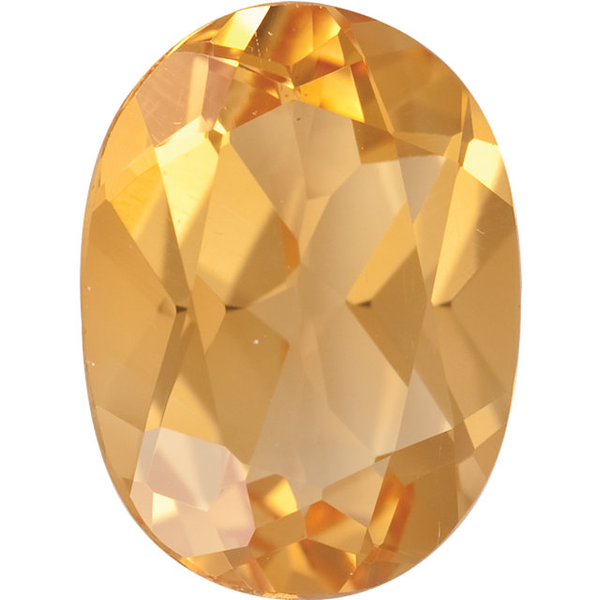 Natural Fine Yellow Gold Citrine - Oval - Brazil - Top Grade - NW Gems & Diamonds