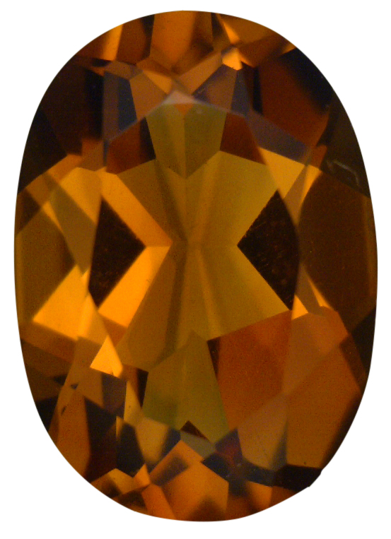 Natural Extra Fine Deep Orange Gold Madeira Citrine - Oval - Brazil - Extra Fine Grade - NW Gems & Diamonds
