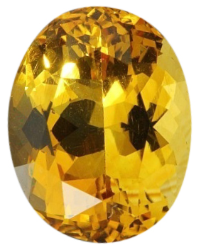 Natural Fine Yellow Gold Citrine - Oval - Tanzania - Top Grade - NW Gems & Diamonds