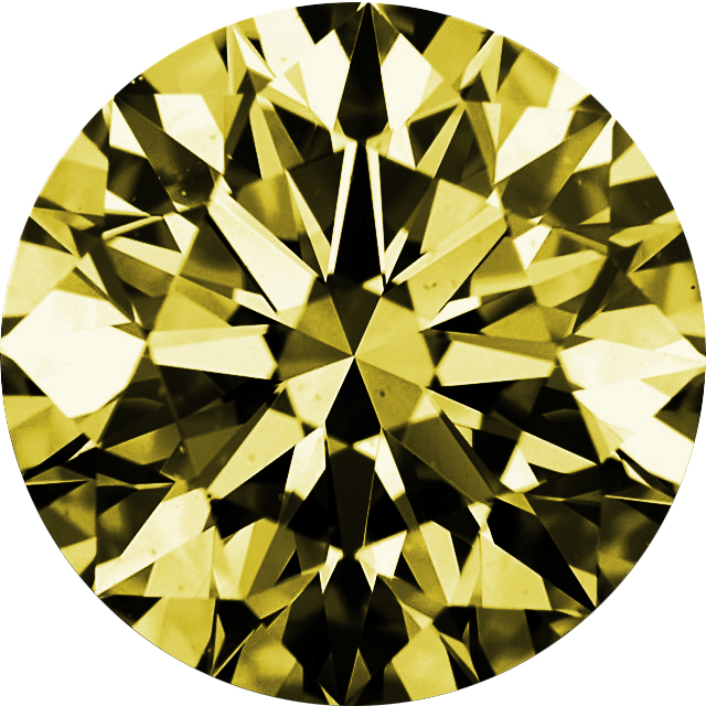 Natural Extra Fine Canary Yellow Diamond - Round - VVS2-VS1 - Africa - Extra Fine Grade