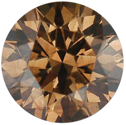 Natural Fine Cognac Diamond - Round - VS2-SI1 - Africa - NW Gems & Diamonds