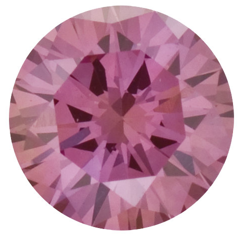 Natural Fine Pink Diamond - Round - VS2-SI1 - Africa - NW Gems & Diamonds