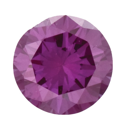 Natural Fine Violet Purple Diamond - Round - VS2-SI1 - Africa - NW Gems & Diamonds