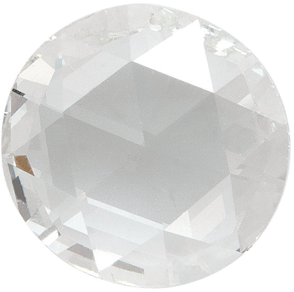 Natural Rose Cut Diamond Melee - Round - VS - G-H - Precision Cut - Africa