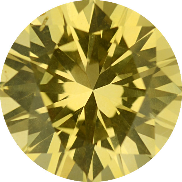 Natural Rare Fine Fancy Yellow Diamond - Round - VS2-SI - Australia, Argyle Mine - NW Gems & Diamonds