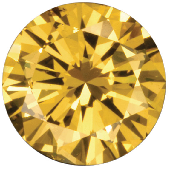 Natural Fine Yellow Diamond - Round - VS2-SI1 - Africa - NW Gems & Diamonds