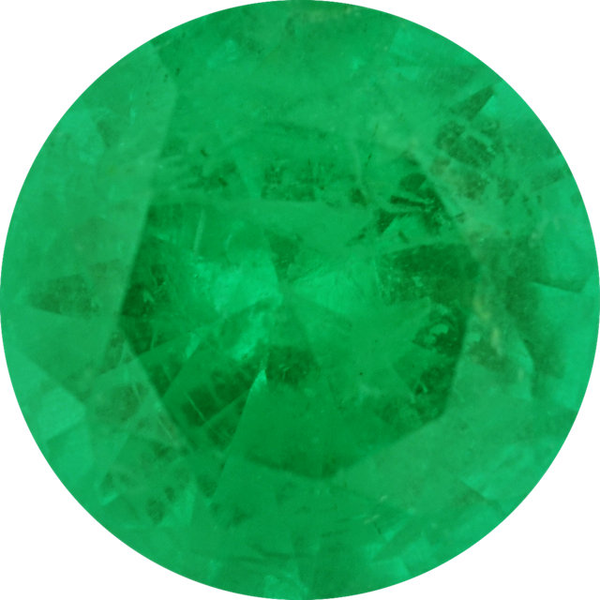 Natural Fine Medium Green Emerald - Round - Zambia - Select Grade - NW Gems & Diamonds