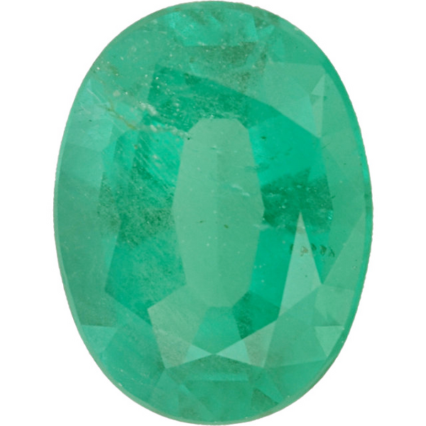Natural Fine Medium Green Emerald - Oval - Brazil - Select Grade - NW Gems & Diamonds