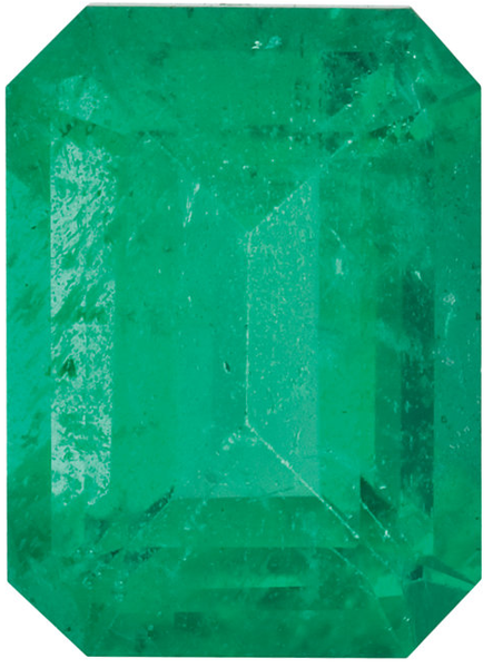 Natural Fine Green Emerald - Emerald Cut - Brazil - Select Grade - NW Gems & Diamonds