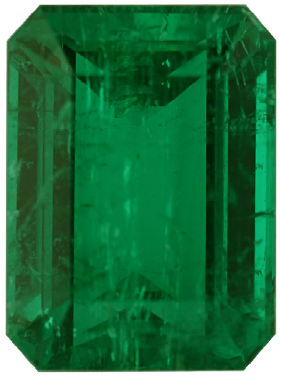 Natural Super Fine Green Emerald - Emerald Cut - Brazil - Super Fine Grade - NW Gems & Diamonds