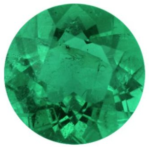 Natural Fine Green Emerald - Round - Brazil - Top Grade - NW Gems & Diamonds