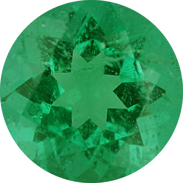 Natural Fine Green Emerald - Round - Zambia - Top Grade - NW Gems & Diamonds