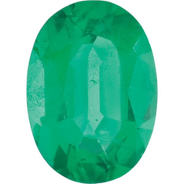 Natural Fine Medium Green Emerald - Oval - Zambia - Top Grade - NW Gems & Diamonds