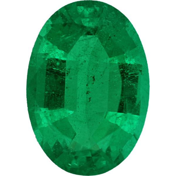 Natural Extra Fine Green Emerald - Oval - Zambia - Extra Fine Grade - NW Gems & Diamonds