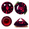 Natural Fine Deep Red Garnet - Round - Madagascar - Top Grade - NW Gems & Diamonds  - 2