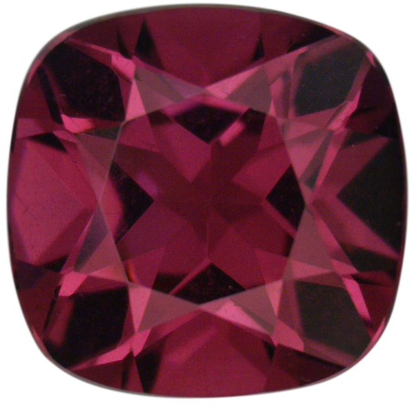 Natural Fine Red Wine Rhodolite Garnet - Square Cushion - Sri Lanka - Top Grade - NW Gems & Diamonds