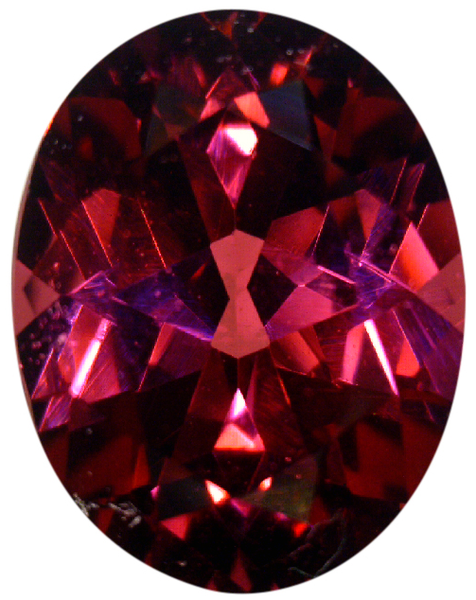 Natural Fine Raspberry Red Rhodolite Garnet - Oval - Tanzania - Top Grade - NW Gems & Diamonds