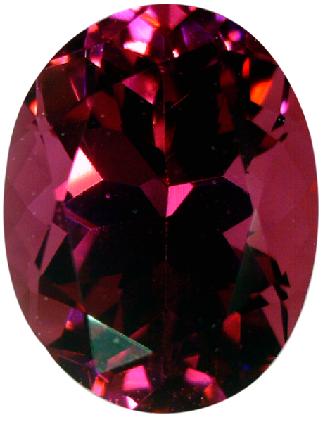 Natural Fine Deep Raspberry Red Rhodolite Garnet - Oval - Madagascar - Top Grade - NW Gems & Diamonds