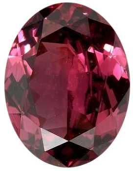 Natural Fine Rich Rose Red Rhodolite Garnet - Oval - Tanzania - Top Grade - NW Gems & Diamonds