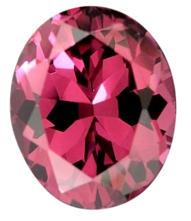Natural Fine Rose Pink Rhodolite Garnet - Oval - Tanzania - Top Grade - NW Gems & Diamonds