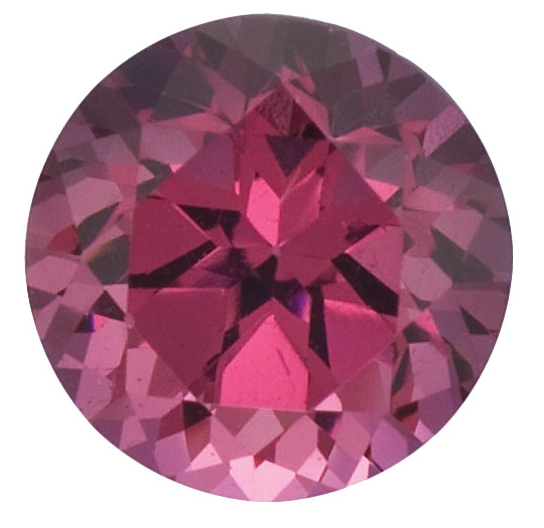 Natural Pink Rose Red Rhodolite Garnet - Round - Mozambique - Top Grade - NW Gems & Diamonds