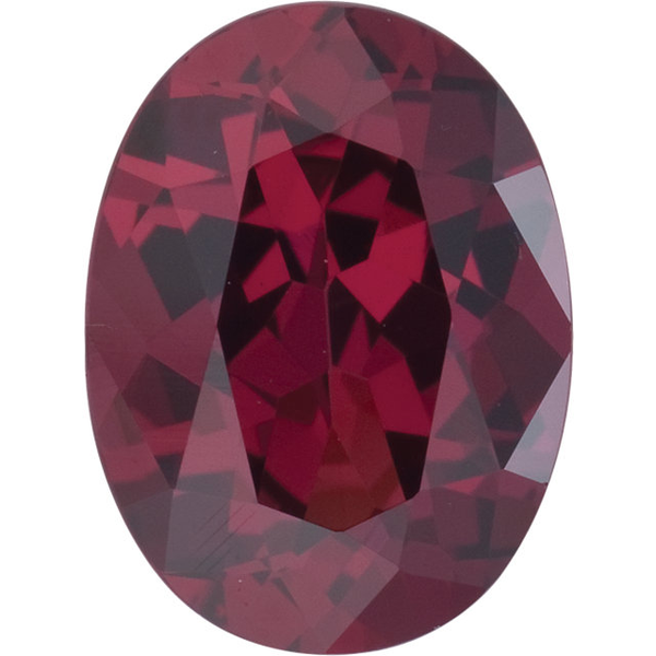 Natural Fine Deep Plum Red Rhodolite Garnet - Oval - Madagascar - Top Grade - NW Gems & Diamonds