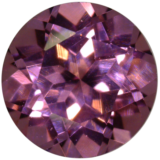 Natural Fine Rose Pink Rhodolite Garnet - Round - Tanzania - Top Grade - NW Gems & Diamonds
