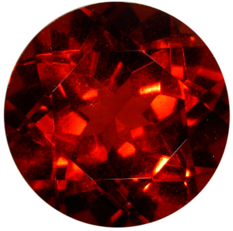 Natural Rare Fine Deep Red Anthill Chrome Pyrope Garnet - Round - Arizona - Top Grade - While Supplies Last - NW Gems & Diamonds