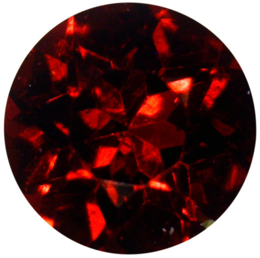 Natural Fine Dark Red Garnet - Round - Mozambique - Top Grade - NW Gems & Diamonds