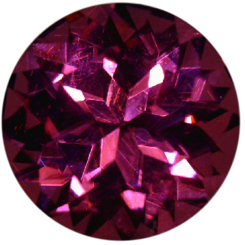 Natural Fine Plum Red Rhodolite Garnet - Round - Tanzania - Top Grade - NW Gems & Diamonds