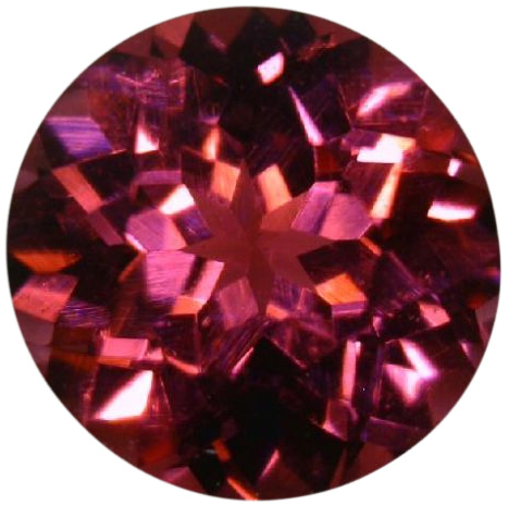 Natural Fine Pink Rose Rhodolite Garnet - Round - Sri Lanka - Top Grade - NW Gems & Diamonds