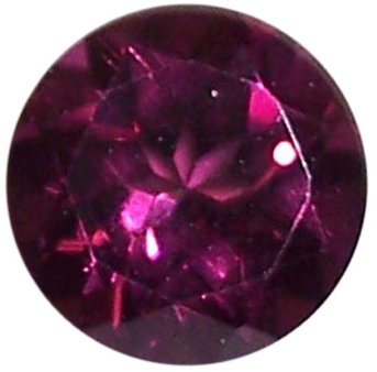 Natural Fine Rose Wine Pink Rhodolite Garnet - Round - Madagascar - Top Grade - NW Gems & Diamonds