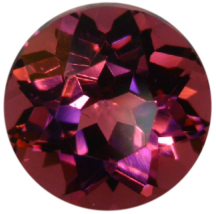 Natural Fine Raspberry Red Rhodolite Garnet - Round - Tanzania - Top Grade - NW Gems & Diamonds