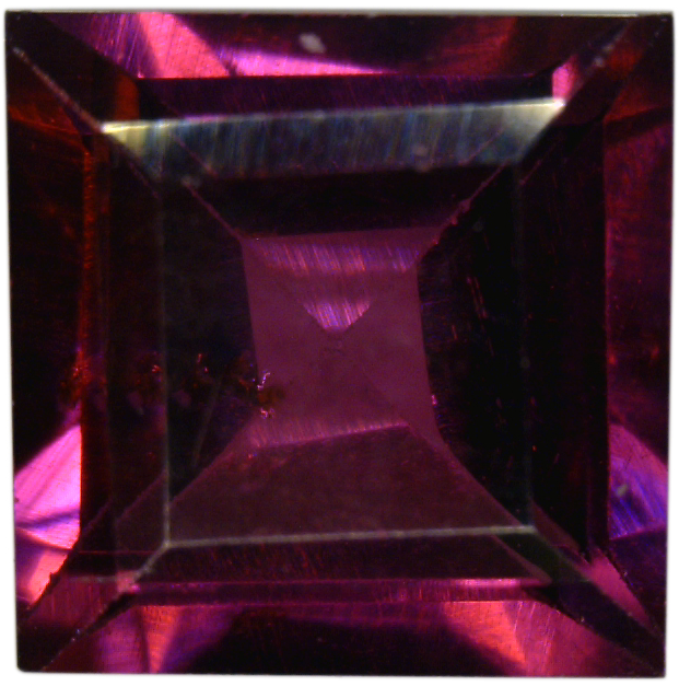 Natural Fine Deep Plum Red Rhodolite Garnet - Square Step - Tanzania - Top Grade - NW Gems & Diamonds