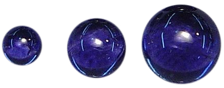 Natural Extra Fine Deep Purple Blue Iolite - Round Cabochon - Namibia - AAA+ Grade