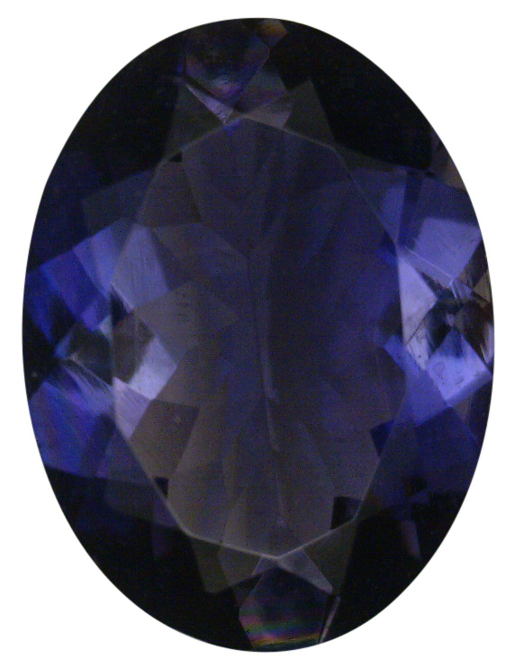 Natural Extra Fine Deep Blue Purple Iolite - Oval - Namibia - Extra Fine Grade - Extra Fine Tanzanite Color - NW Gems & Diamonds