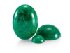 Natural Extra Fine Green Jadeite Jade - Round Cabochon - AAA+ Grade