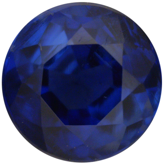 Natural Fine Blue Kyanite - Round - Nepal - Top Grade - Top Blue Sapphire Color - NW Gems & Diamonds
