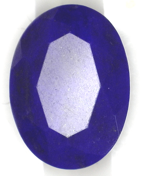 Natural Extra Fine Deep Blue Lapis Lazuli - Oval Faceted - Afghanistan - AAA+ Grade