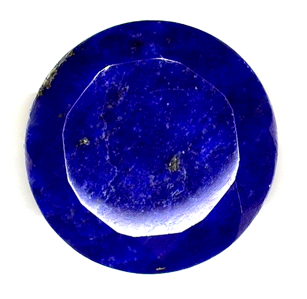 Natural Extra Fine Deep Blue Lapis Lazuli - Round Faceted - Afghanistan - AAA+ Grade