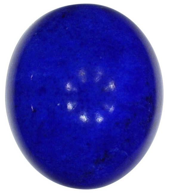 Natural Extra Fine Rich Blue Lapis Lazuli - Oval Cabochon - Afghanistan - AAA+ Grade