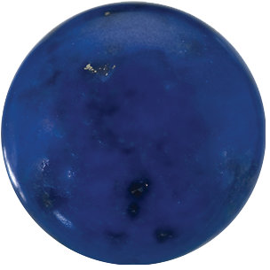 Natural Fine Blue Lapis Lazuli - Round Cabochon - Afghanistan - Top Grade - NW Gems & Diamonds