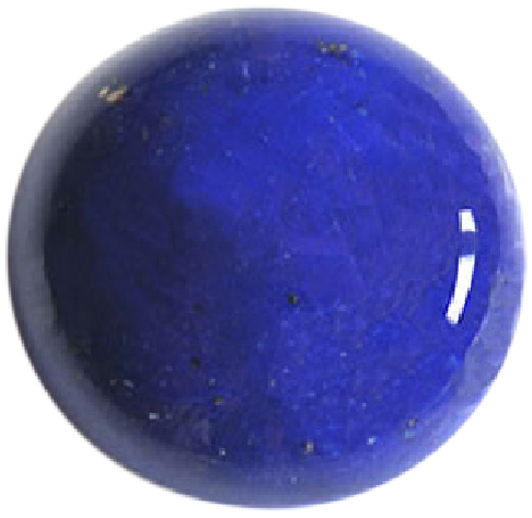 Natural Extra Fine Blue Lapis Lazuli - Round Cabochon - Afghanistan - Extra Fine Grade - NW Gems & Diamonds