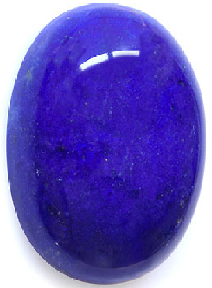 Natural Extra Fine Blue Lapis Lazuli - Oval Cabochon - Afghanistan - Extra Fine Grade - NW Gems & Diamonds