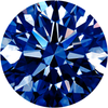 Parcel Natural Super Fine Rich Blue Sapphire Melee - Round - AAAA Grade